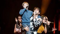 «La voix junior»au Centre Bell: fête de