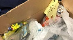 Un étudiant reçoit un colis plein d'ordures... de sa