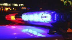 Poursuite policière à Laval: un homme prend la fuite et lance des armes à travers la