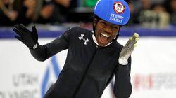 Maame Biney est la première femme noire à joindre l'équipe de patinage de