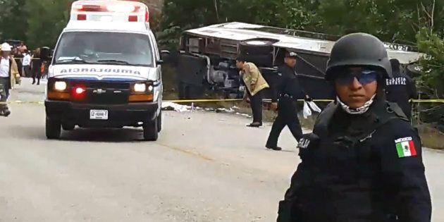 Une Gatinoise est décédée dans l'accident d'autocar survenu au