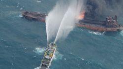 Mer de Chine: La marée noire, déjà grande comme Paris, a triplé de taille en 4
