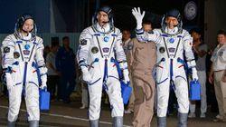 Trois astronautes ont décollé vers l'ISS à bord d'un nouveau