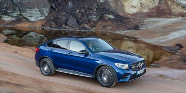 Essai routier Mercedes-Benz GLC Coupé 2017 : marketing oblige