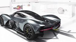 Aston Martin et Red Bull s'associent pour créer une supervoiture spectaculaire
