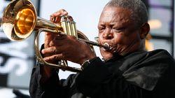 Le jazzman sud-africain Hugh Masekela est