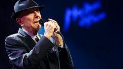 Le concert hommage à Leonard Cohen sera diffusé à la