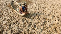 Un quart des terres plus sèches en cas de hausse des températures de