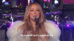 À Times Square pour 2018, Mariah Carey n'a pas obtenu son thé chaud mais a fait oublier le désastre de