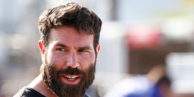 RICHMOND, VA - APRIL 24: Poker player Dan Bilzerian attends qualifying for the NASCAR Sprint Cup Series...