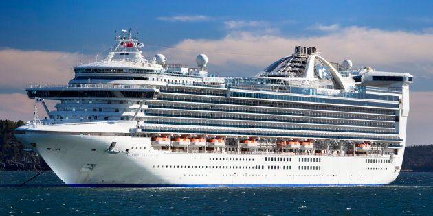 Le navire «Caribbean Princess» en