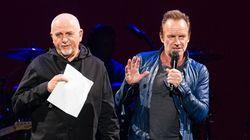 Découvrez le tour de chant de Sting et Peter Gabriel en