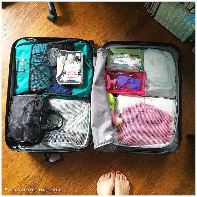 Les meilleurs trucs pour faire ses bagages d'une experte en