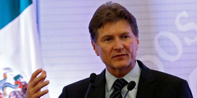 Le ministre mexicain du Tourisme, Enrique de la
