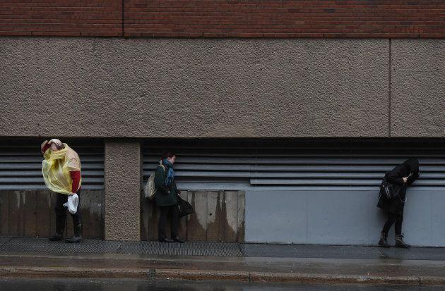 Lendemain de tempête hivernale difficile dans l'est du Québec et les
