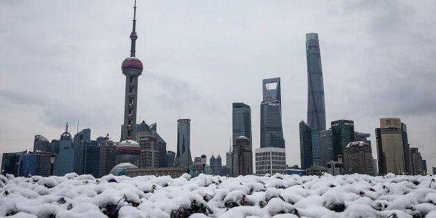 À Shanghai, les moyens pour faire face à ce genre de situation sont