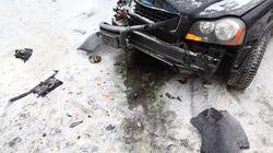 Une collision entre une automobile et une déneigeuse tue deux