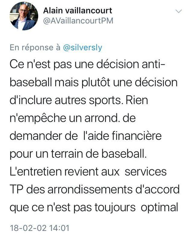 Le projet anti-baseball de Projet