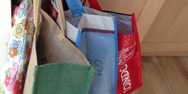 Des sacs réutilisés... depuis