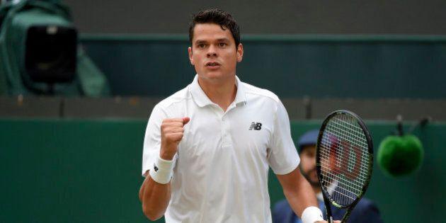 Britain Tennis - Wimbledon - All England Lawn Tennis & Croquet Club, Wimbledon, England - 2/7/16 Canada's...