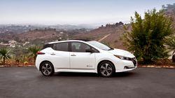 La Nissan LEAF 2018 gagne en autonomie et en plaisir de