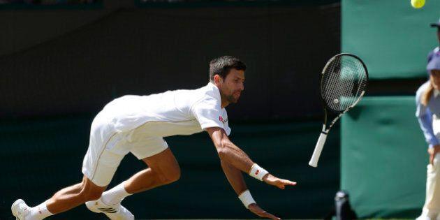 Britain Tennis - Wimbledon - All England Lawn Tennis & Croquet Club, Wimbledon, England - 2/7/16 Serbia's...