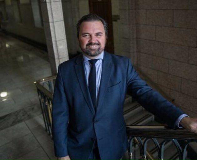 Claude-Éric Gagné, un influent membre du personnel dans le bureau du premier ministre Justin Trudeau.