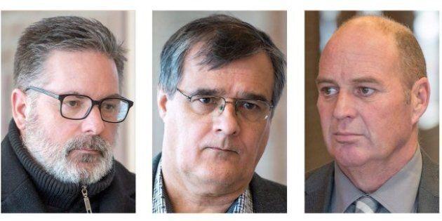 Jean Demaitre, Richard Labrie et Thomas
