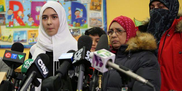 Khawlah Noman et sa mère, 12 janvier