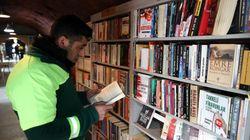 En Turquie, des éboueurs créent une bibliothèque à partir de livres jetés aux