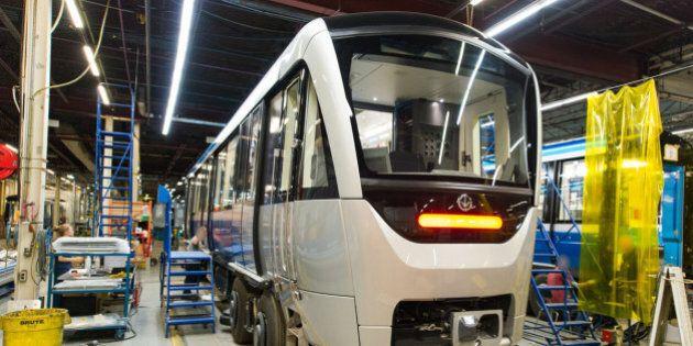 La STM recevra gratuitement deux trains Azur