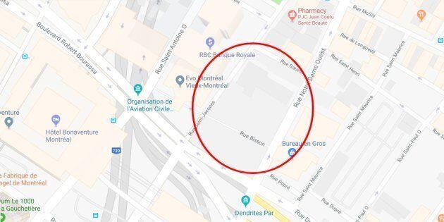 Le plus vaste terrain disponible au centre-ville de Montréal a été