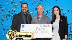 Un Montréalais remporte un million $ à Célébration