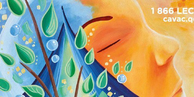 Andréanne Rioux, artiste multidisciplinaire, nous propose une œuvre symbolique inspirée du processus...
