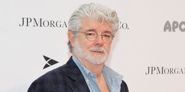 NEW YORK, NY - JUNE 10: George Lucas attends the Apollo Spring Gala and 80th Anniversary Celebration...