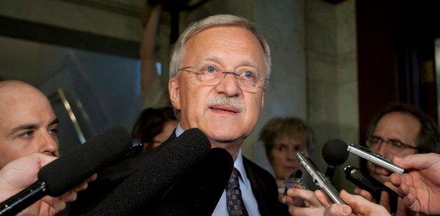 Le député libéral d'Orford, Pierre Reid, devrait annoncer ce printemps s'il sollicite un sixième