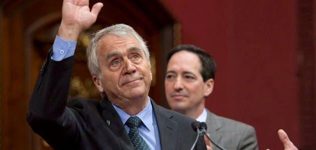 Le doyen de l'Assemblée nationale, François Gendron, a été élu pour la première fois dans l'équipe de...