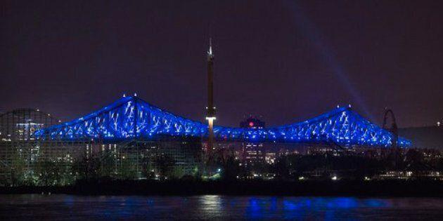 L'illumination du pont Jacques-Cartier parmi les nommés au Gala de l'innovation interactive