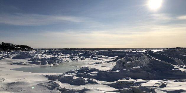 Arrivée à Kuujjuaq: un atterrissage sur la
