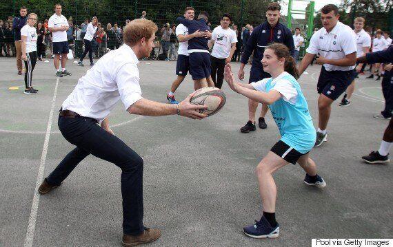 Le prince Harry refuse gentiment une demande en
