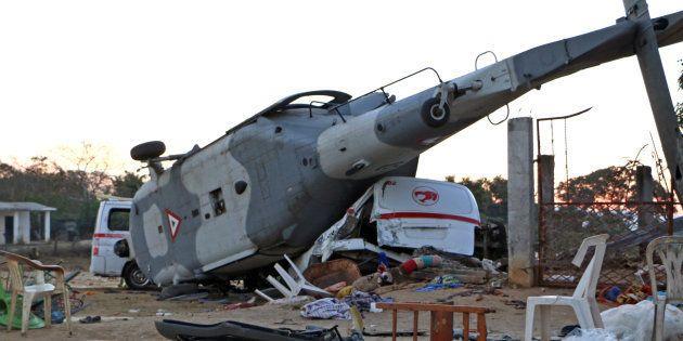 Mexique: 13 morts dans l'accident d'hélicoptère d'un