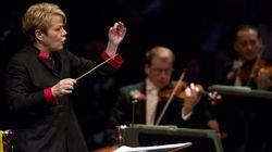 Marin Alsop, première femme à la tête de l'orchestre symphonique de