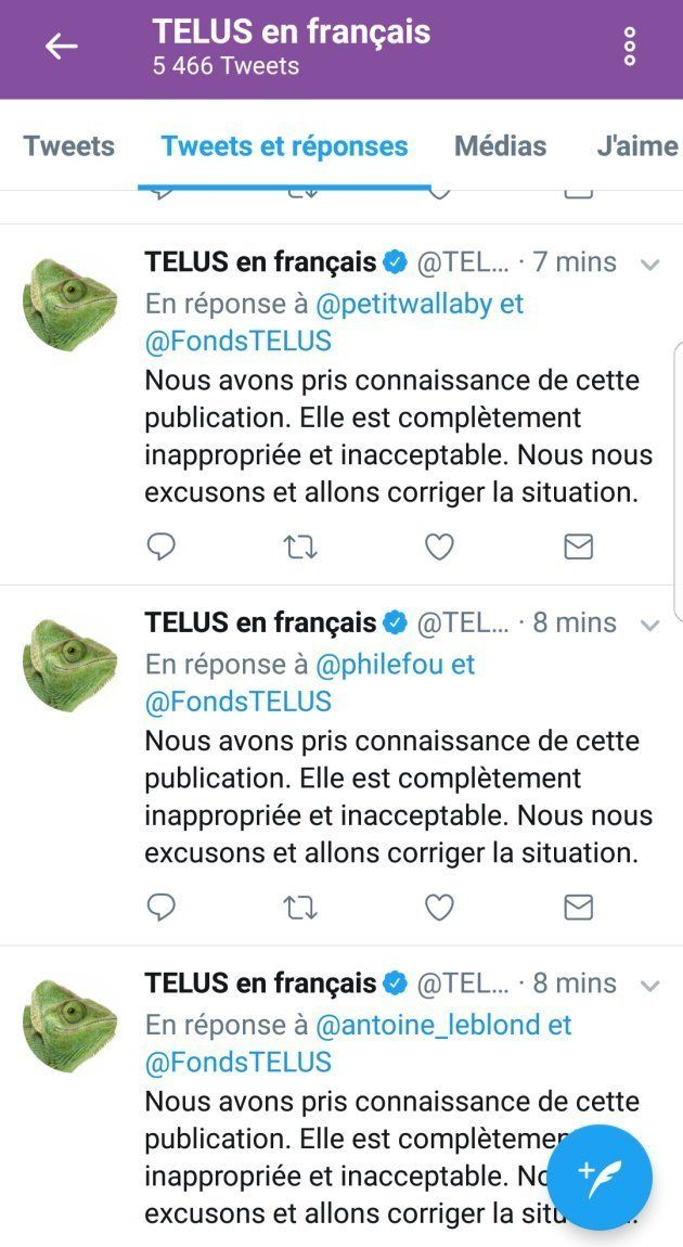 Les tweets du Fonds TELUS font réagir mais pas pour les bonnes