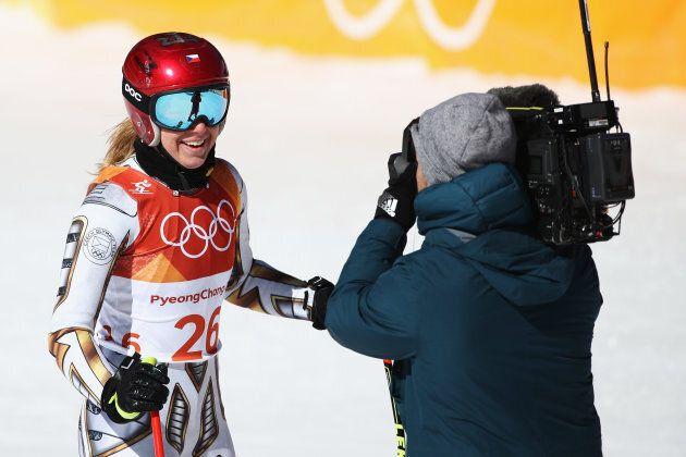 Une planchiste sacrée championne olympique en...