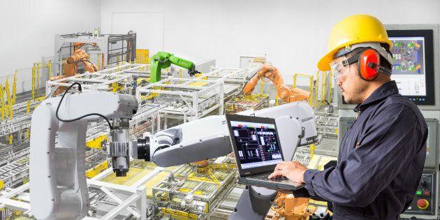 La croissance de la majorité des secteurs industriels permet une hause de 0,4 % du