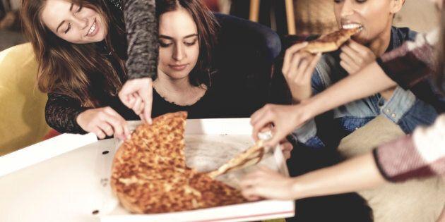 La pizza plus santé que les céréales au déjeuner?