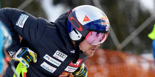 Erik Guay renonce à participer aux Jeux olympiques en raison de ses douleurs au au