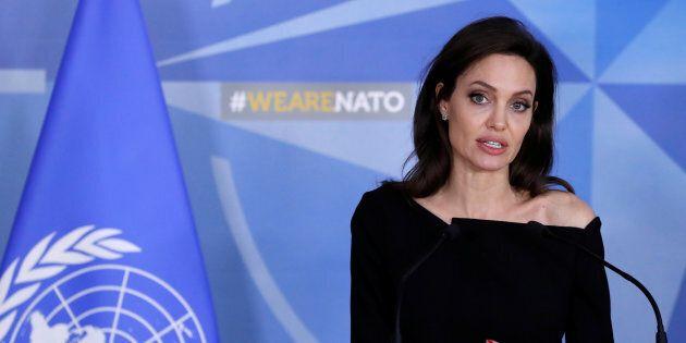 Angelina Jolie va travailler avec l'Otan contre les violences
