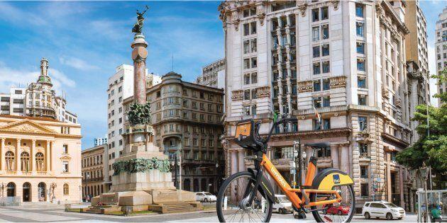 Le modèle brésilien du Bixi, le Fit, est déployé à São Paulo depuis