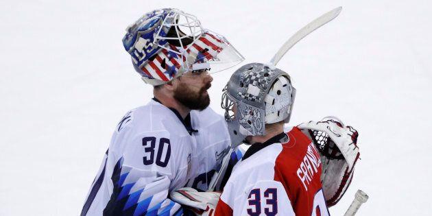 Hockey: les Américains éliminés par les Tchèques à